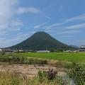 写真: 讃岐富士