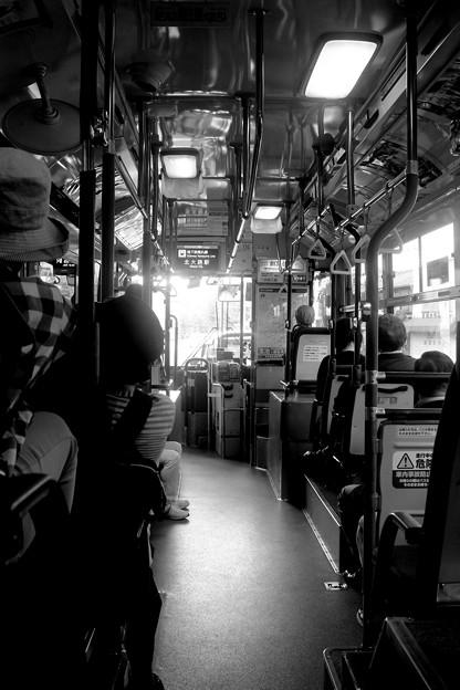 バスに揺られて~