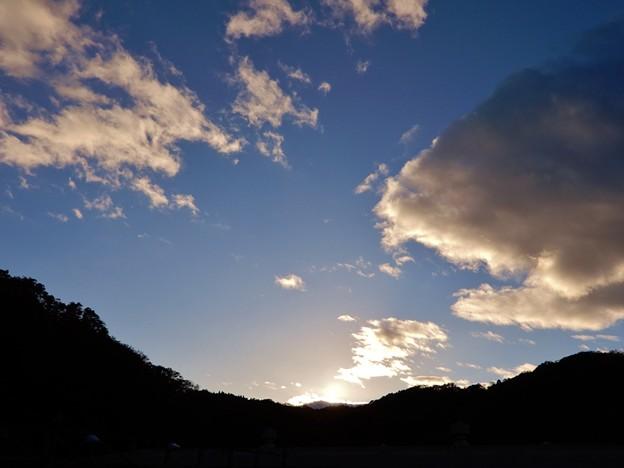写真: 夕暮れ1