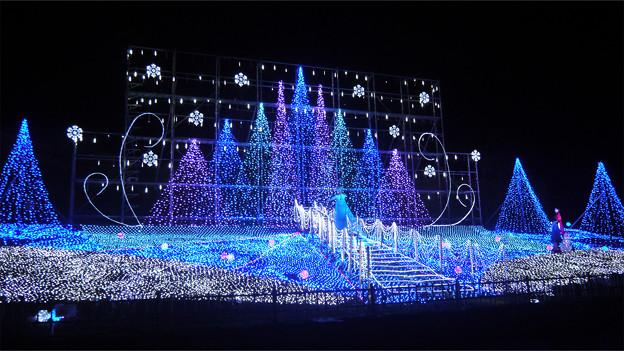 道の駅大任のクリスマスイルミ2014(2)