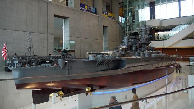 大和ミュージアム(3)戦艦「大和」模型
