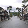 写真: 出雲大社門前町(2)神門通り広場付近