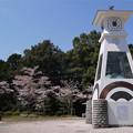 岩国城(10)岩国城ロープウェイ 山頂のからくり時計