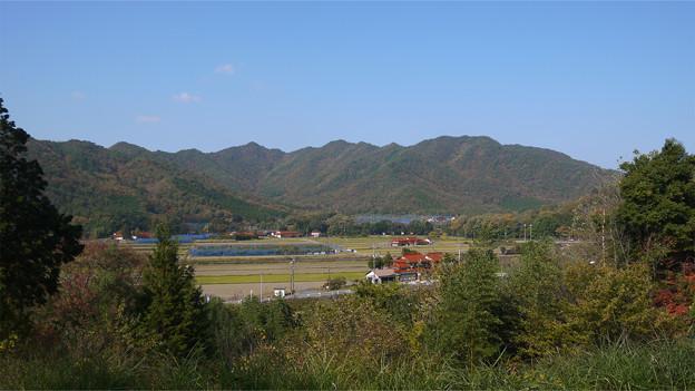 津和野の国道9号、マルホりんご園付近駐車場(2)