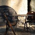 写真: オープンカフェ