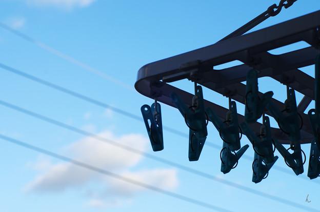 写真: 日常から見る青空