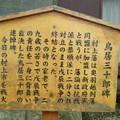 Photos: 家老の鳥居三十郎様1