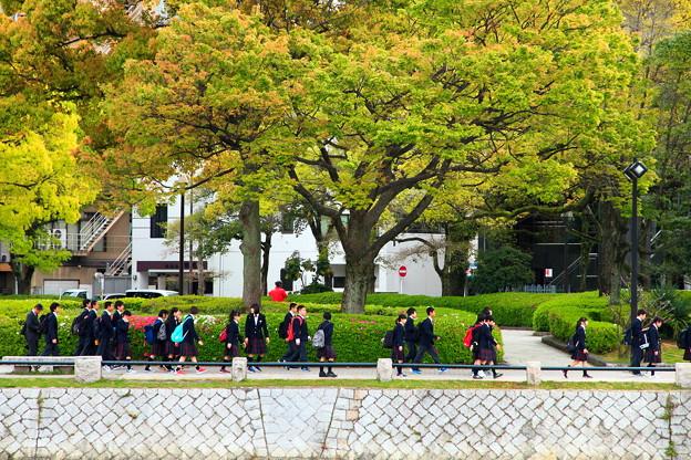 T-2~新緑の修学旅行~♪~広島に訪ねてくれてありがとう~(^^♪
