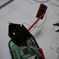 赤外線リモコン組込1