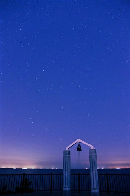 写真: 煌めく夜空(北斗七星)