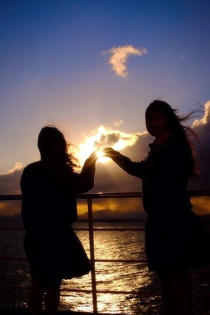 写真: 夢*未来への輝き