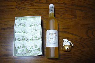 120528-5 阿闍梨餅と梅酒