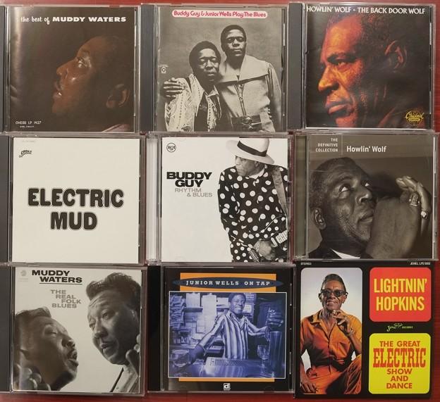 お気に入り?の音楽CD、ブルース