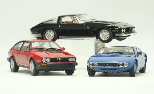 minichamps 1/43 Alfa GTV 6 、他