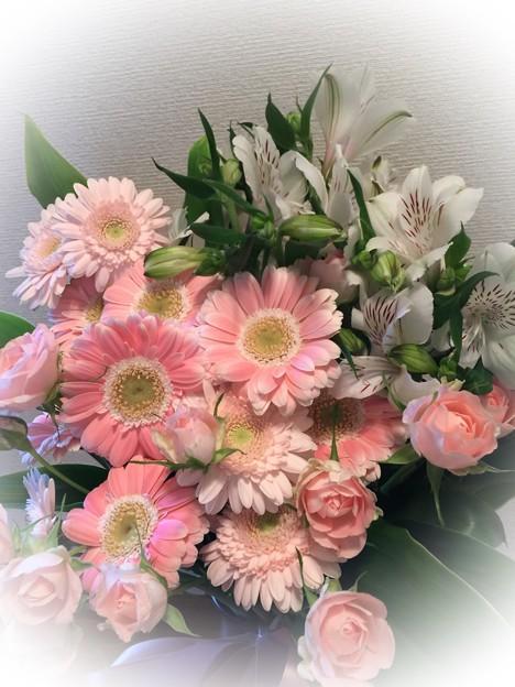 花束を貰いました(1)
