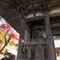 西明寺(2) 二天門と紅葉