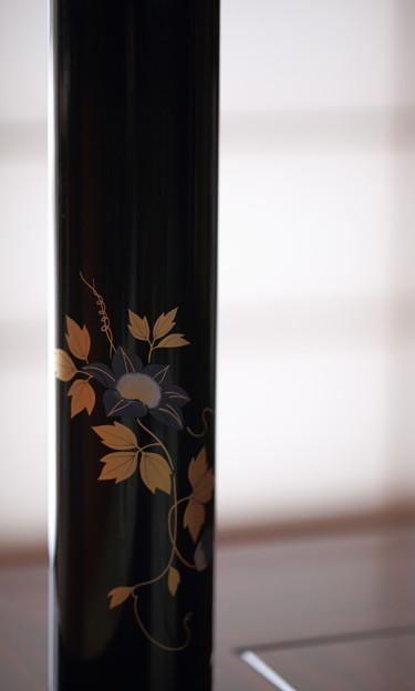 輪島塗の花器(1)