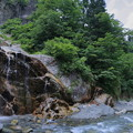 写真: 姥ヶ滝と蛇谷川 白山白川郷ホワイトロード