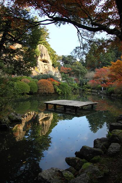 那谷寺 池と奇岩遊仙境