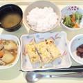 写真: 11月19日夕食(擬製豆腐) #病院食