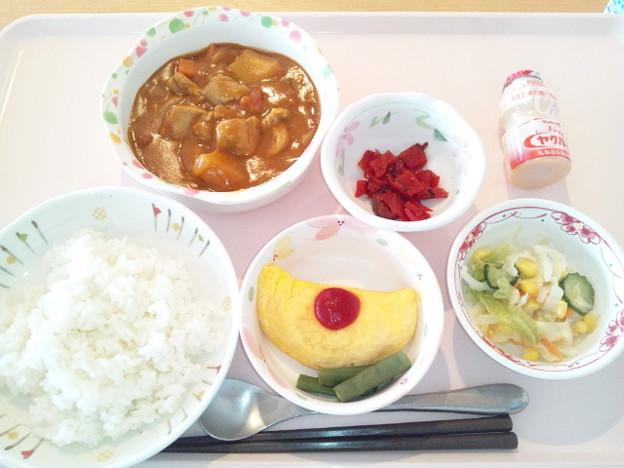 11月20日昼食(チキンカレー) #病院食