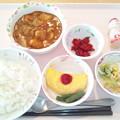 写真: 11月20日昼食(チキンカレー) #病院食