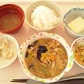 1月21日昼食(八宝菜) #病院食