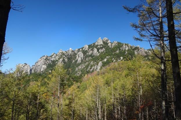 瑞牆山に登った・・・。