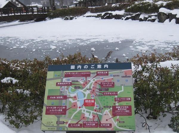 14.19 池が凍って