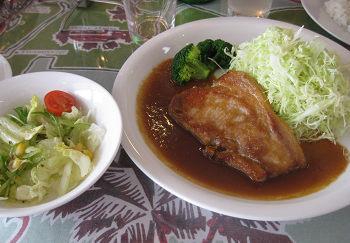 麦豚ステーキ (2)s