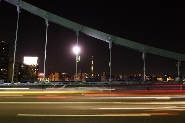 橋脚の隙間