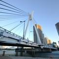 青空に中央大橋