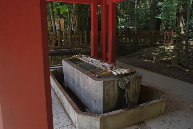 香取神宮 手水舎