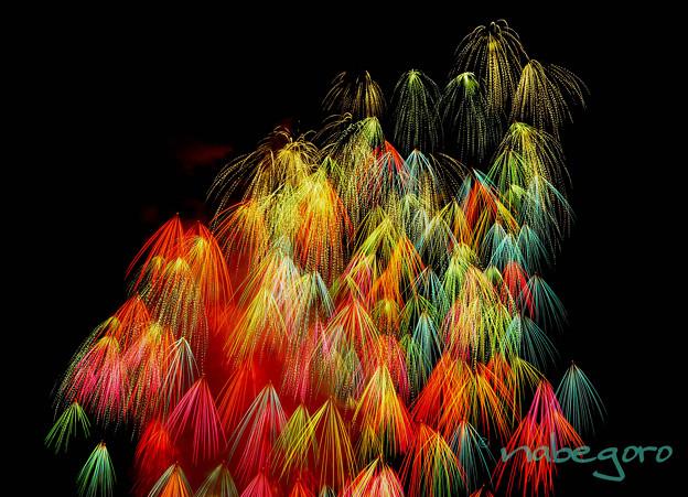 写真: 神明の花火-16