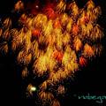 写真: 神明の花火