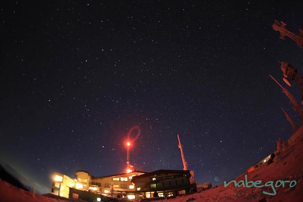 王ヶ頭ホテルと満天の星