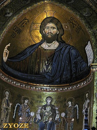 シチリア島・パレルモのモンレアレ大聖堂。