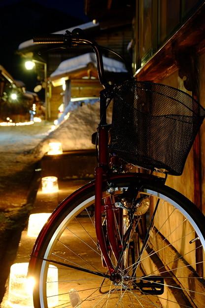 奈良井宿雪灯り'15-8