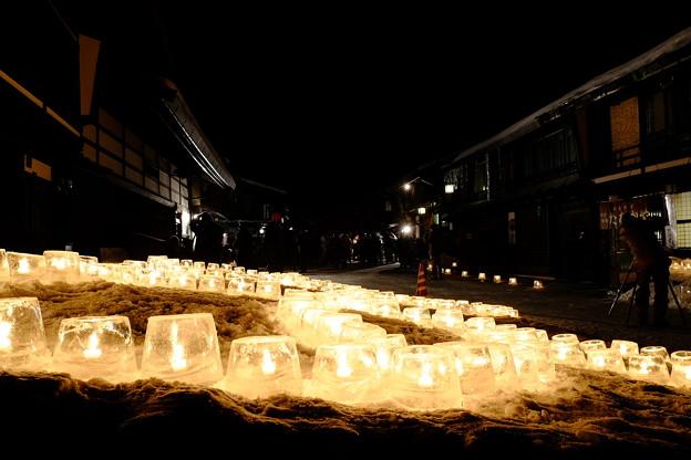 奈良井宿雪灯り'15-10