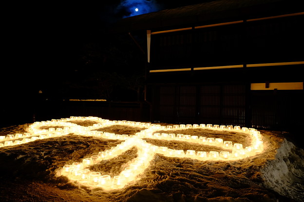 奈良井宿雪灯り'15-11