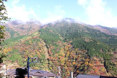 宮ノ下駅からの眺め
