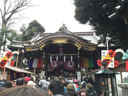 元日 豊川稲荷赤坂別院