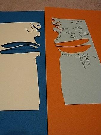 トンボ型紙