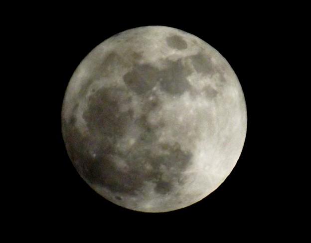 2017年最大の満月