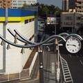 写真: 小山駅東モニュメント (3)