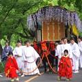 鴨川沿いを上賀茂神社までラストスパート。もうへろへろに。