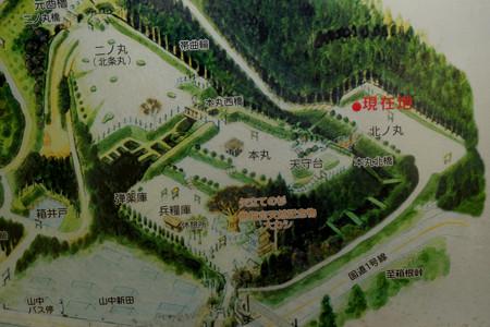11北の丸から本丸周辺の図