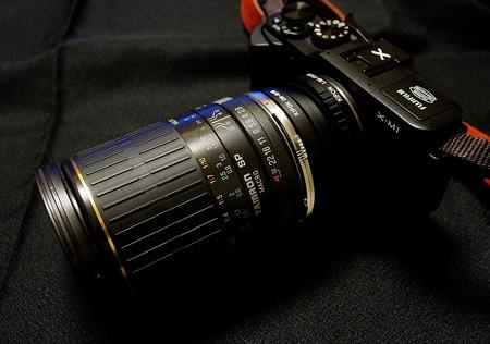X-M1と90mmマクロ