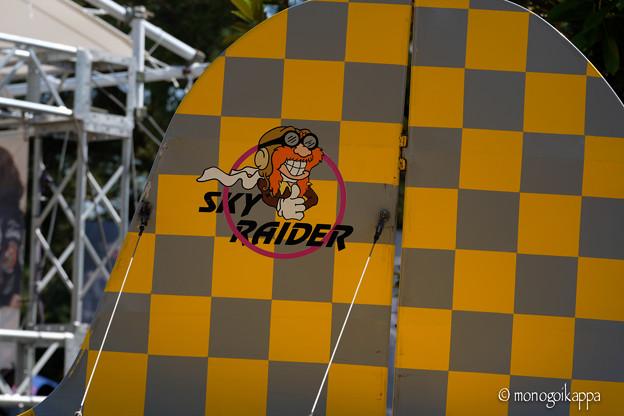 写真: Yellow airplane-4598