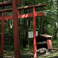 写真: 加護丸稲荷-09_祠-5614